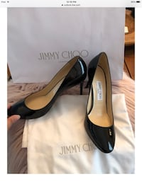 Jimmy choo patent leather pumps  Newmarket, L3X 0J4