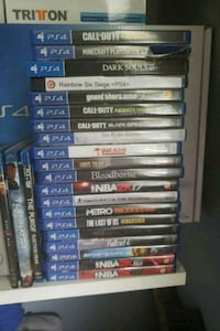 assorted Sony PS4 game cases Derry, 03038