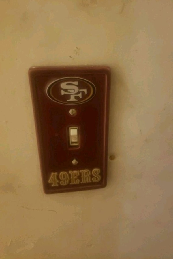 49er lightswitch cover