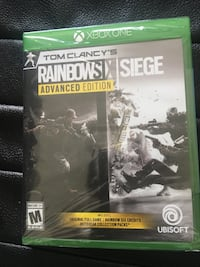 New - Tom Clancy's Rainbow Six Siege Advanced Edition - Xbox One Walnut Creek, 94598