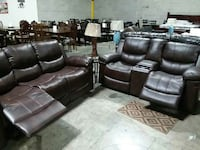 Leather  Sofa love seat living room set Jessup, 20794
