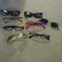 Moving Sale! All for 8.00  Reading and sunglasses Edmonton, T5B 3P5