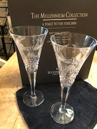 Waterford crystal toasting flutes Youngstown, 44511