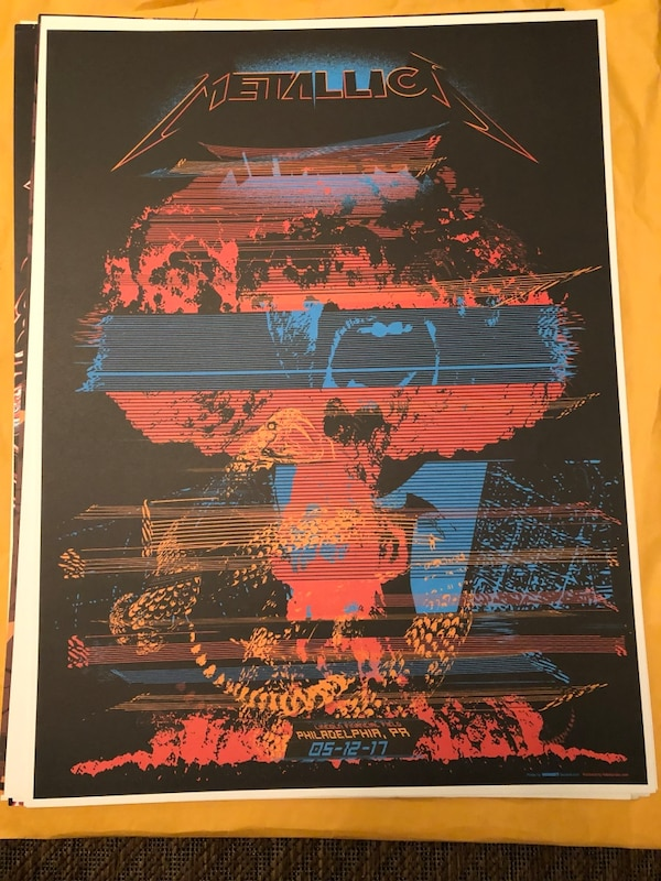 Limited Edition Metallica Concert Posters 7abf4eb6-f3c7-4bb6-9192-bd2102f14029