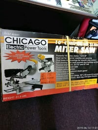 "NEW Chicago Electric 10"" Compound Slide Miter Saw Southgate, 48195"