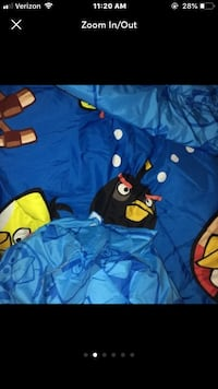 Rovio Angry Birds Sheets art with tote Taylors, 29687