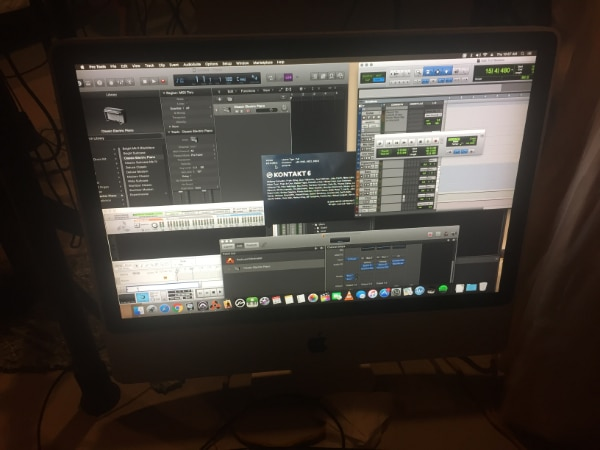 """Imac 24"""" Early 2008 - Music Production Software"""