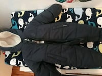 Baby Boy Navy Blue coat Oshkosh 6/9 months Yonkers