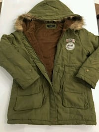 Army Green Coat - Winter Jacket Toronto
