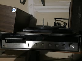 Sears record player with Am/Fm radio
