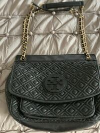 black leather quilted crossbody bag Hamilton, L9C 7S6