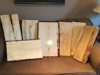 Live Edge Charcuterie boards Whitby, L1N 6C4