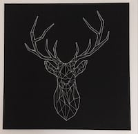 Wall art hanging / Oh Deer Surrey, V3T