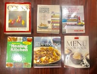 6 cook books -all for $12