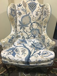 Wingback chair. Vintage