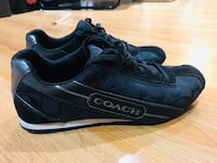 Coach Hilary Signature C black charcoal woman's size 7 sneaker  Vancouver, V5M