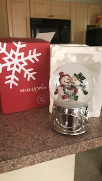 Snow Globe Christmas Sterling, 20165