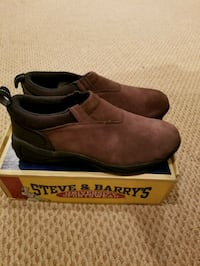 NWB Steve & Barry's Brown Slip On Shoes, Size 11 Pikesville, 21208