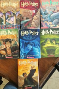 Harry Potter book collection Spring, 77379