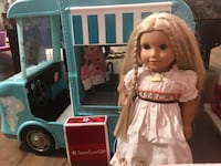 American girl doll with car! Anchorage, 99504