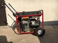 CRAFTSMAN 6300 WATT ELECTRIC START GENERATOR