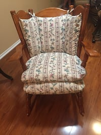 Wooden Rocker with cushions Palm Harbor, 34684