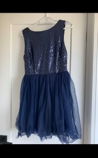XS Navy Blue (Sequin & Tulle) Prom Dress- BNWT - $50 Toronto, M8W 3Y8