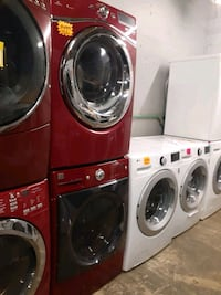 Front load washer & electric dryer mix &match working perfectly 4 m w Baltimore, 21223