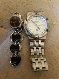 two round silver analog watches Richmond Hill, L4S 1R1