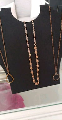 gold chain necklace with pendant West Valley City, 84128