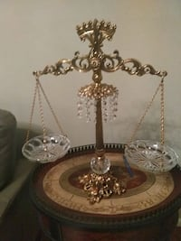 Vintage decorative scales of justice Chesterfield