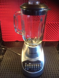 Black and Decker Stainless Steel Blender Calgary, T1Y 7E1