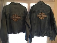 Licensed Harley Davidson his and hers vintage jean motorcycle jackets Ottawa, K1N