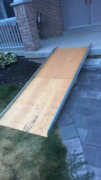 Wood ramp for wheelchairs, bikes etc Georgina, L4P 0A2