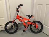 toddler's red and black bicycle Odenton, 21113