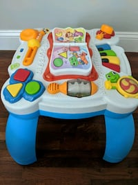 baby's white and blue activity table Beverly, 01915