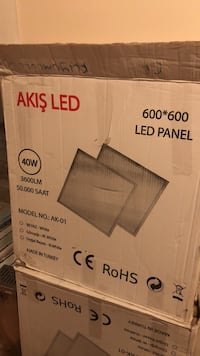 60/60 slim led panel  Muratpaşa, 07200