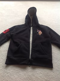 Polo jacket with hood size 10-12