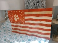 Clemson flag that looks like it is blowing in wind Lexington County, 29070