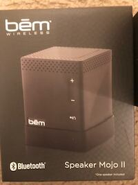 BEM Wireless Bluetooth Speaker Mojo II $10 Burtonsville