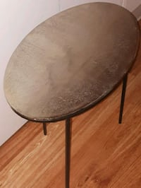 URBAN BARN GOLD AND BLACK SIDE TABLE London