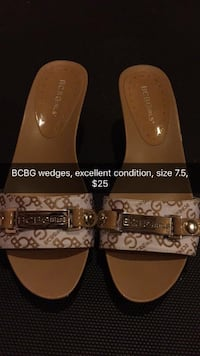 pair of brown leather sandals Toronto, M6J