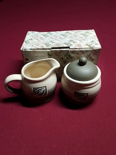 Ceramic Sugar & Creamer