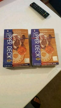 2 upperdeck NBA boxes , yes they have jordans  Jessup, 20794