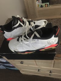 Low 6's size 6 condition 8/10