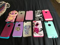six assorted color iPhone cases Roanoke, 24017