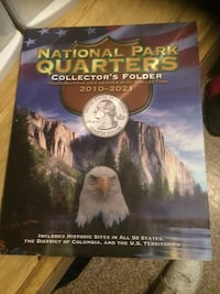 National Park Quarters collector's folder Union City, 07087