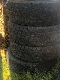 Terrain tires 285/65/17 $250 firm full set