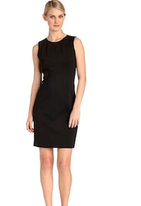 LOFT Women's Black Sleeveless Dress Size 6 TORONTO