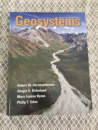 Geosystems by Christopherson, Birkeland, Byrne, and Giles book
